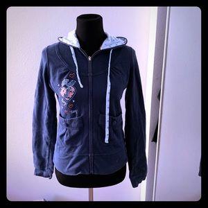Blue Roxy jacket size M